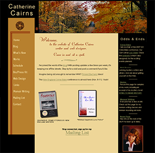 catherinecairns website