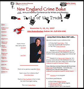 New England Crime Bake conference