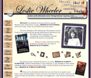 website of Leslie Wheeler
